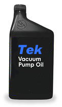 --Tek-SV synthetic vacuum pump fluid, 1 gallon